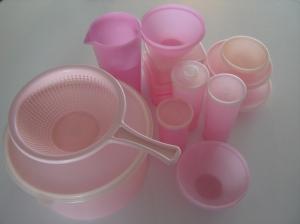 Vintage Tupperware Pink