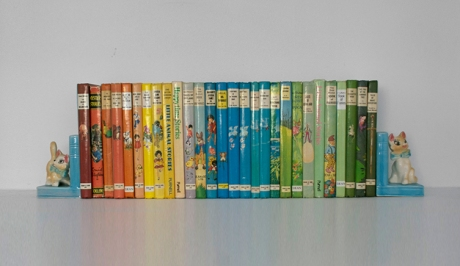vintage Enid Blyton childrens books