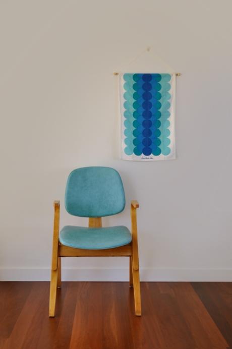 Jonathan Adler hanging & thonet chair