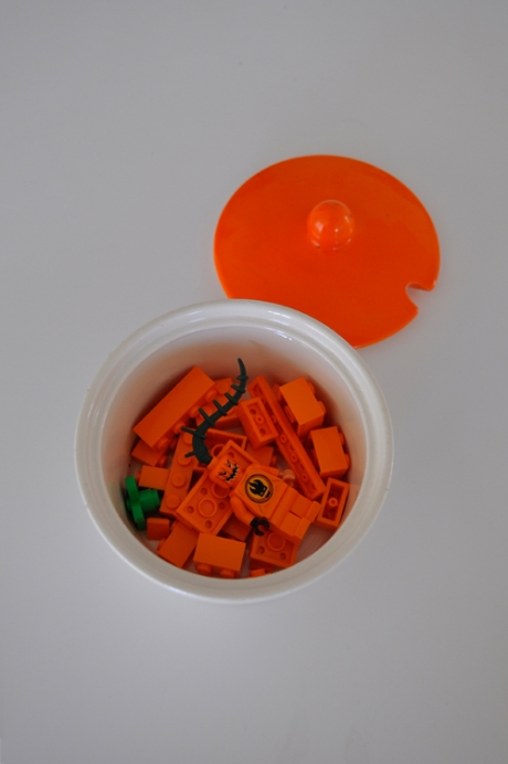 orange lid sugar bowl and lego japan halloween