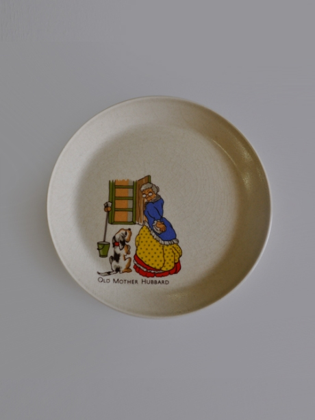 johnson brothers old mother hubbard plate_childrens nursery rhyme