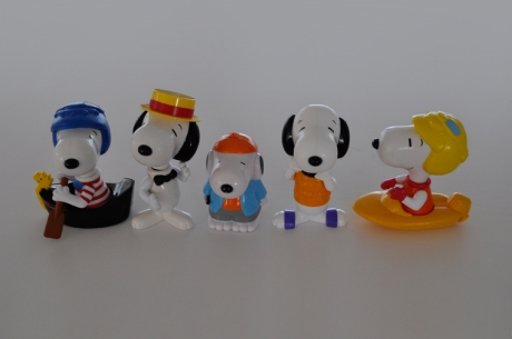 vintage mcdonald happy meal snoopy dolls