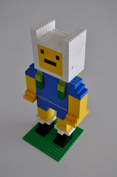Lego Finn Adventure Time