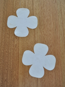 2 white_flower-suede laser cut flower coaster