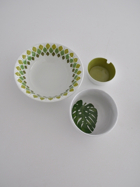 3 bowls green inside pontessa spain monstera japan copy