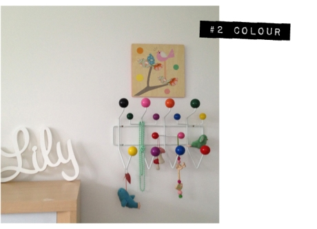 Lily eames hang it all girls room bird decorating