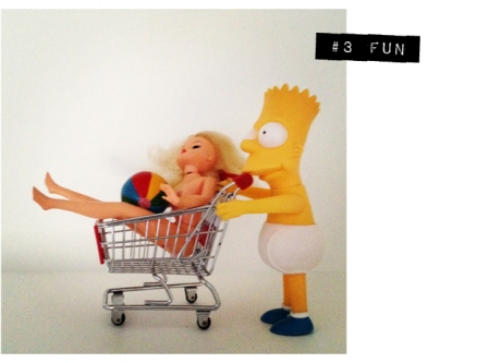 instagram 7 vignettes bart simpson Barbie trolleyed