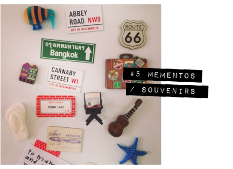 vintage style fridge magnets road signs travel