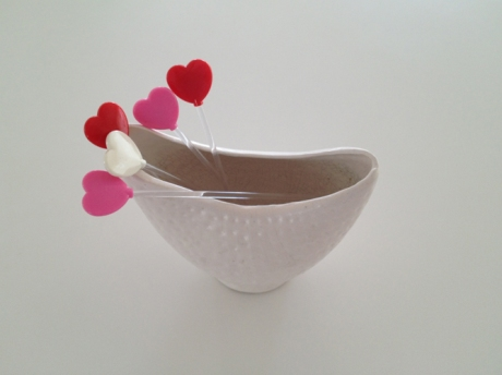 love japanese plastic deco vase