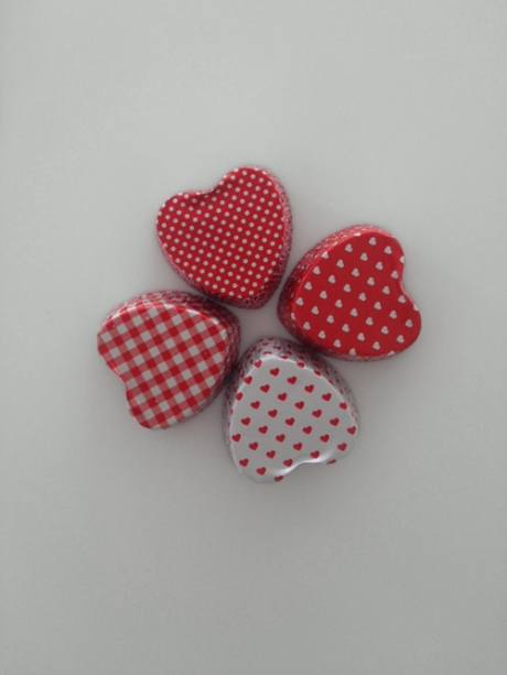 lucky love hearts clover petit four cases copy