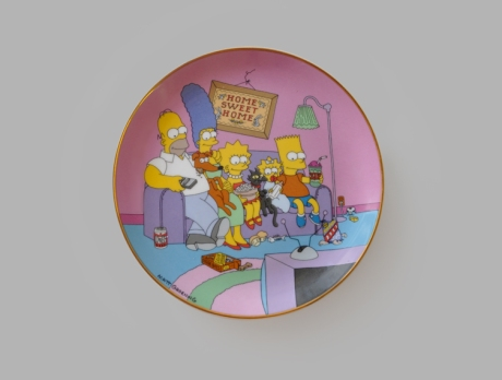 The Simpsons Home Sweet Home Plate copy copy