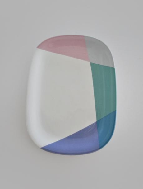 Mikasa Eighty Tempo pastel platter