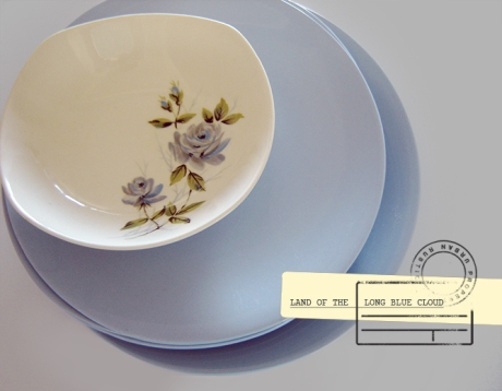 Johnson Bros Blue Cloud Floral_bowl