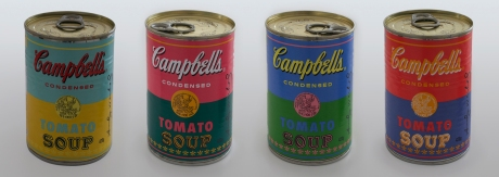 Andy Warhol Campbells soup cans COMP