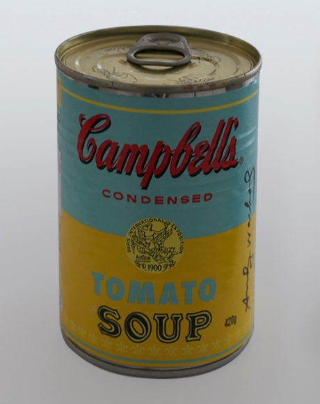 Andy Warhol Campbells soup cans1