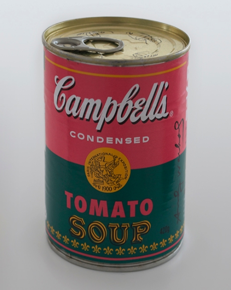 Andy Warhol Campbells soup cans2