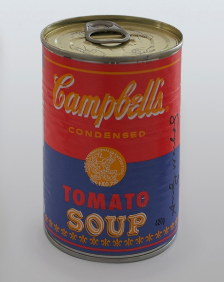 Andy Warhol Campbells soup cans4