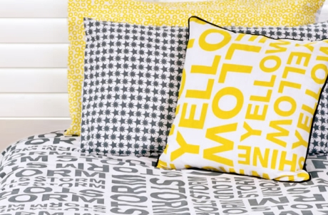 one kind design collection yellow storm