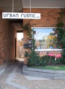 urban rustic exterior