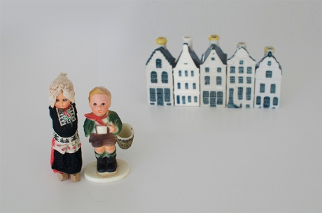 KLM Amsterdam house bottles Dutch kids