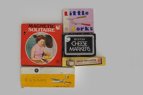 vintage packaging Birko Moulinex Cheese Dymo graphics