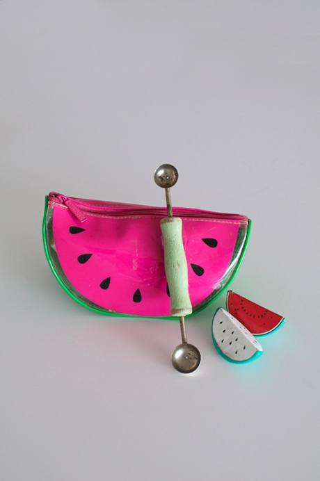 watermelon bag vintage wooden melon baller copy