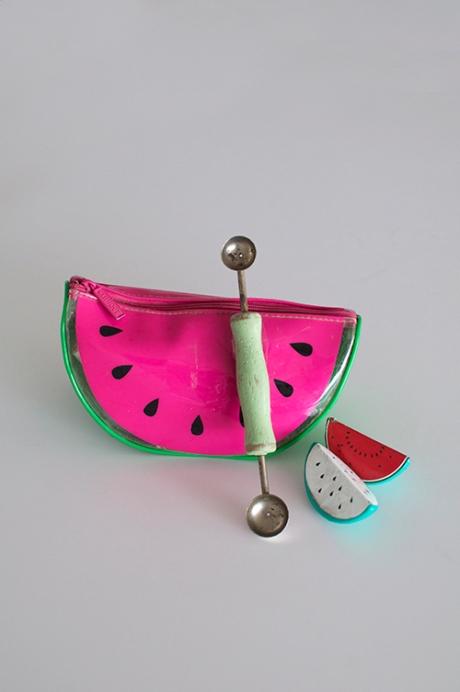 watermelon bag vintage wooden melon baller copy