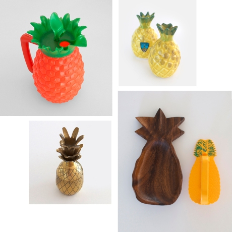 Retro vintage Pineapple products for sale