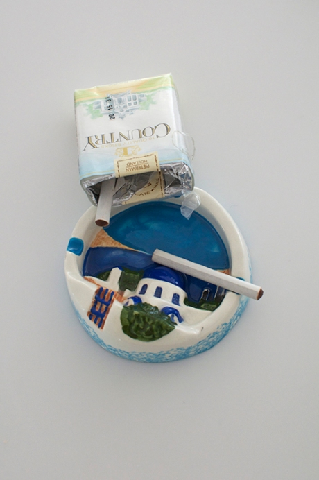 Greece souvenir ashtray