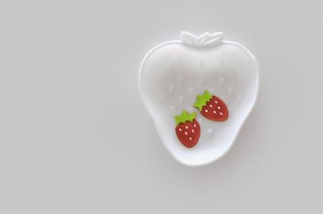 white strawberry milkglass plate copy copy