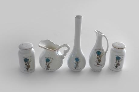 HOLLY HOBBIE china vases ornaments hor