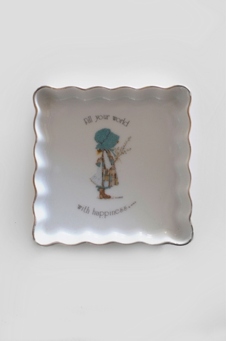 HOLLY HOBBIE plate lr