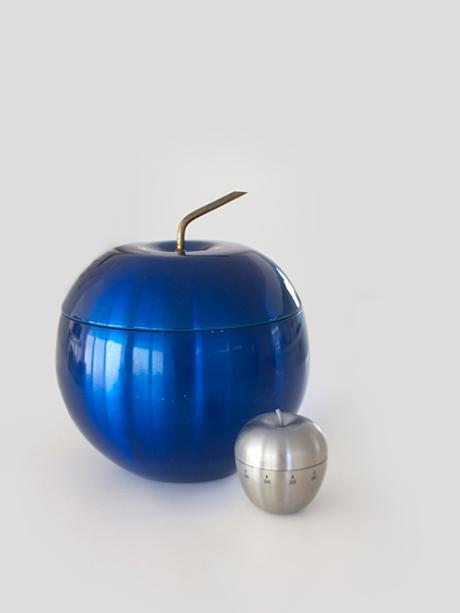 Daydream vintage blue anodised icebucket