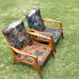 FLER SC58 pair of chairs urban rustic before