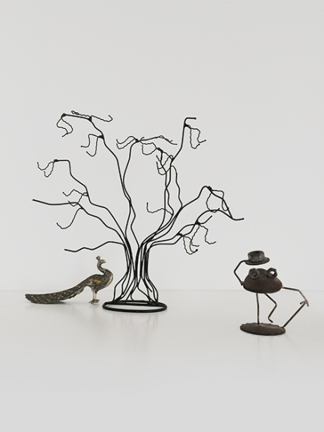 metal tree spare parts frog