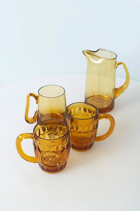 fluid amber vintage beer glasses royal copy