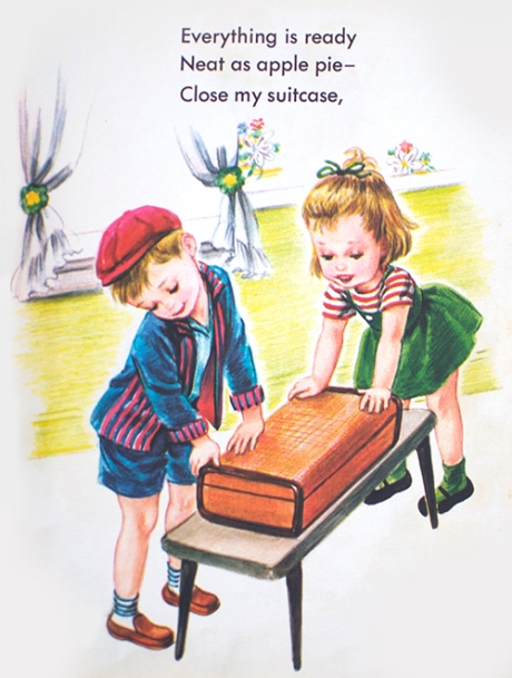 vintage golden book cute packing picture copy