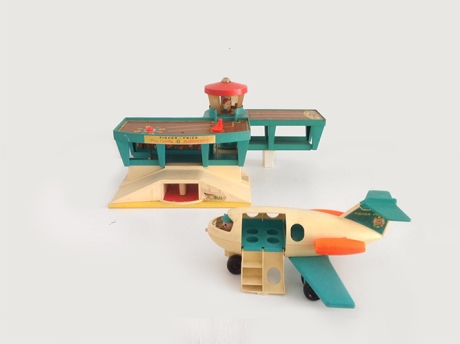 fisher price airport vintage