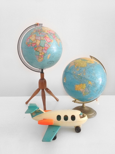 fisher price plane vintage globes copy