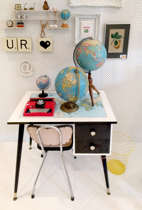 urban rustic desk