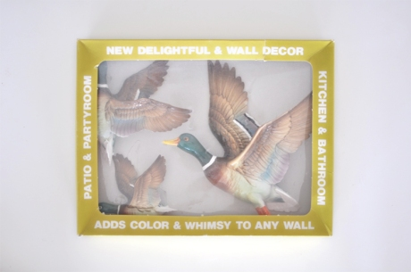 new vintage wall ducks in a box