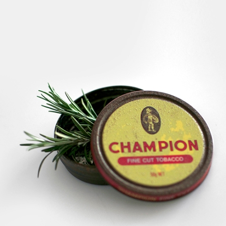 champion tin rosemary